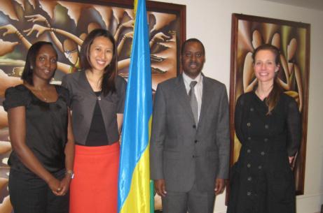 Gates scholar spurs entrepreneurship in Rwanda