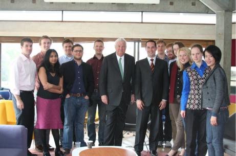 US Ambassador meets Gates scholars