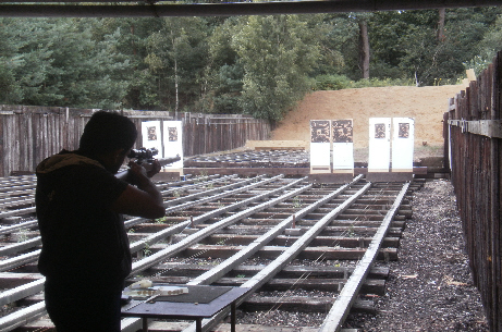 Alumnus shoots his way to two gold medals