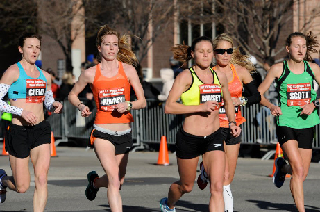Gates alumna runs in Olympic trials