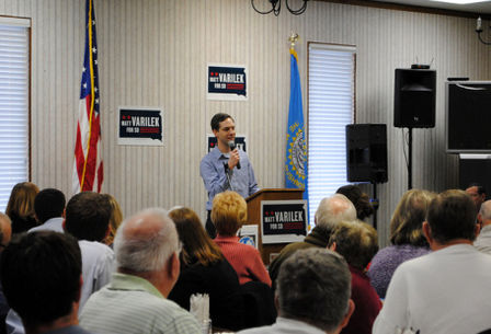 Matt Varilek wins Democrat ticket in South Dakota