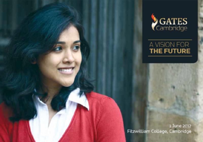 Film of Gates Cambridge  vision event released