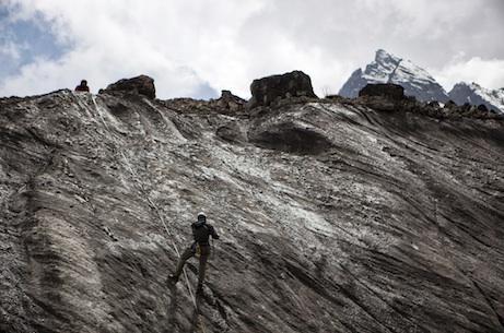 Measuring glacial melt