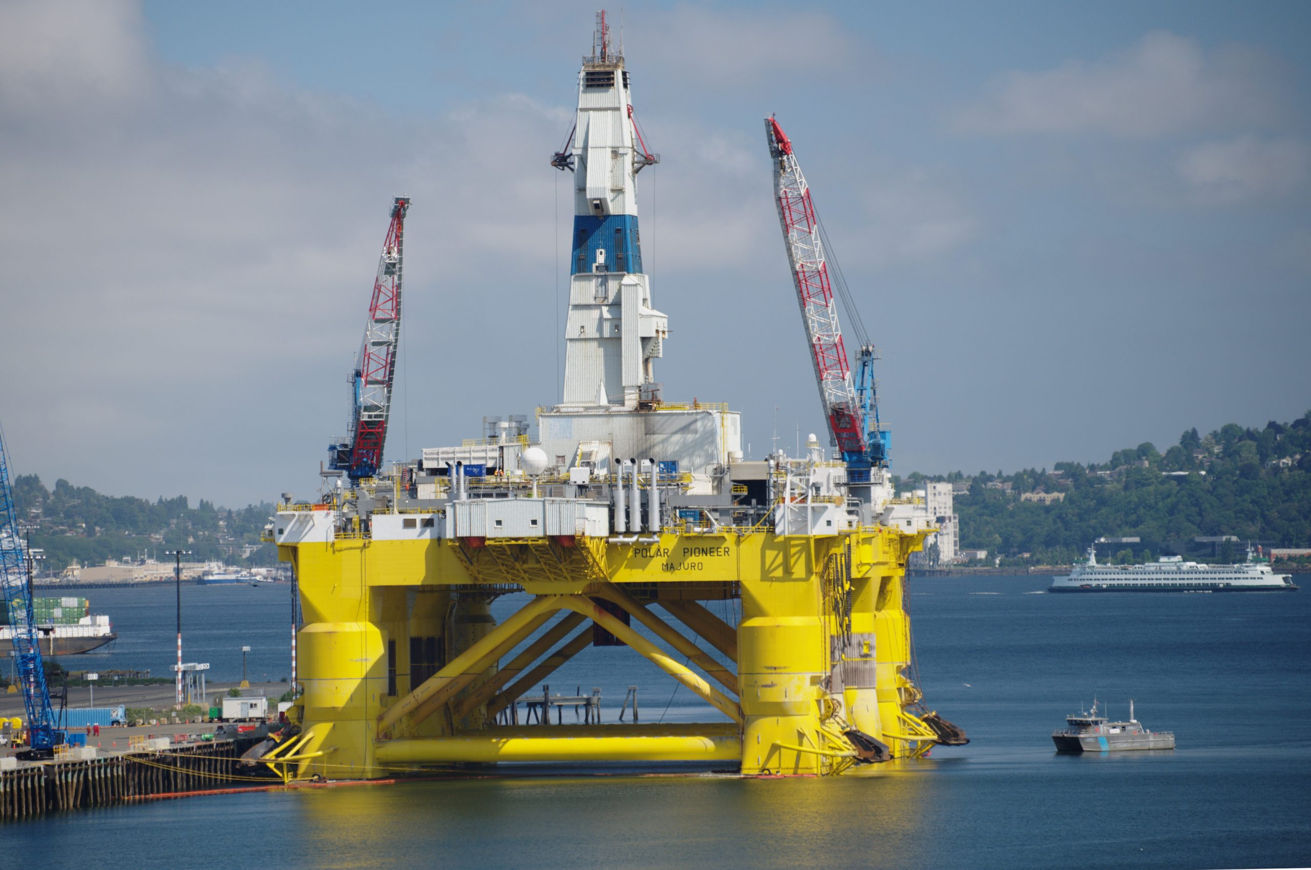 The gap between Arctic oil's rhetoric and reality