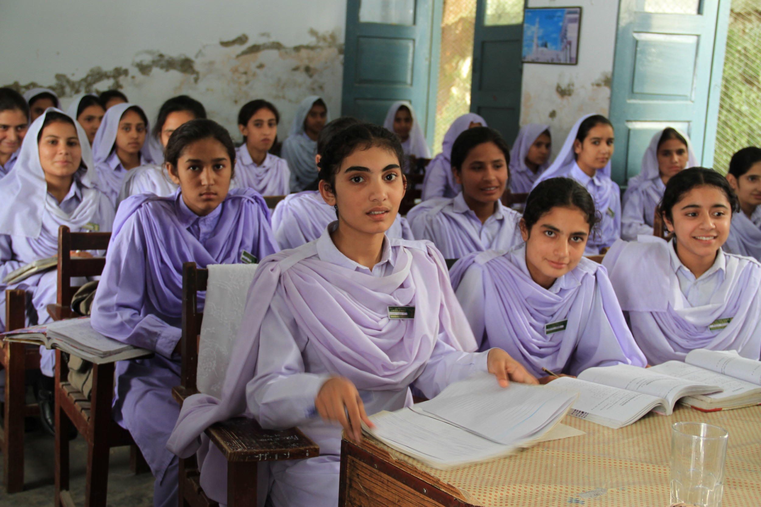 Women fight terror through education