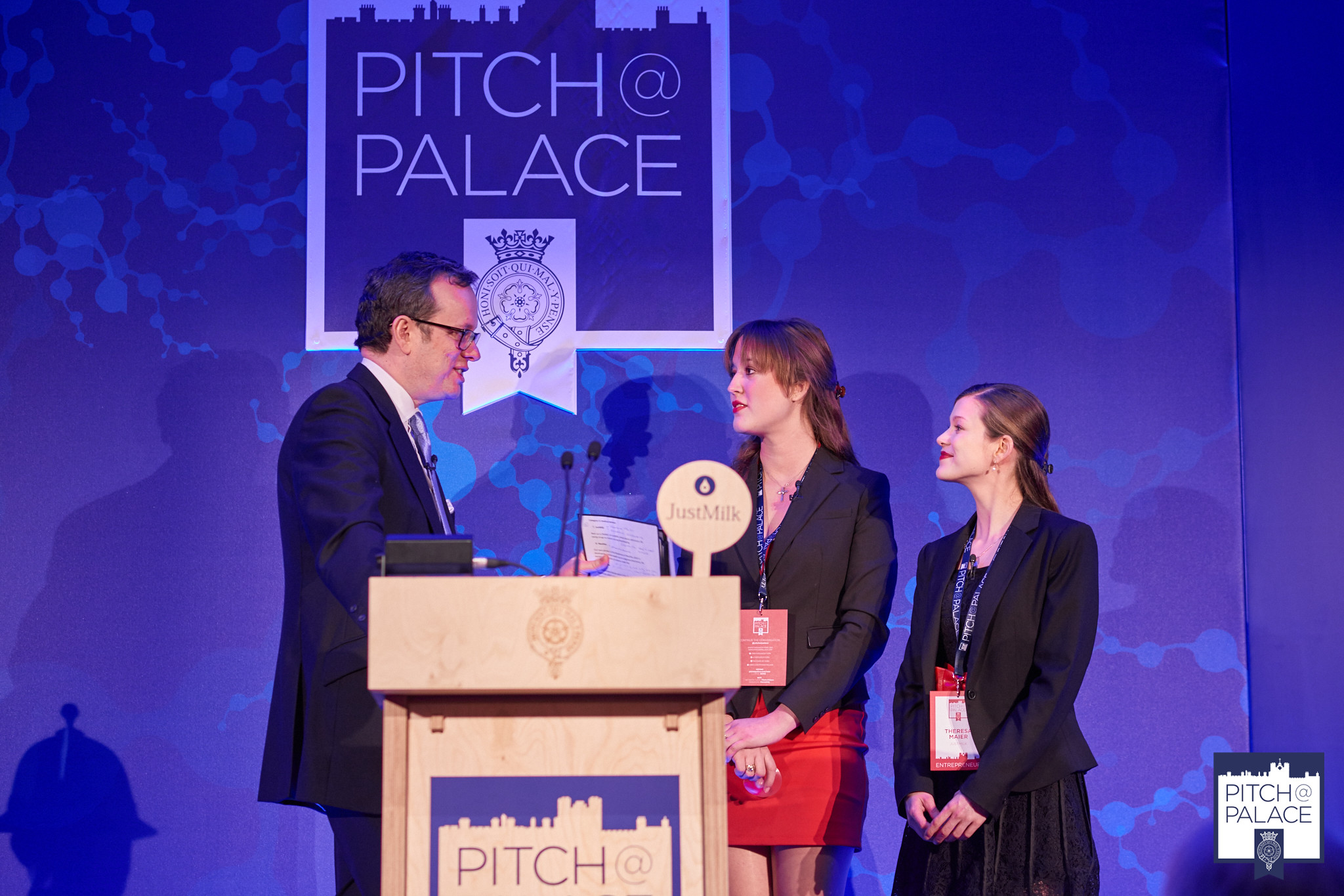 JustMilk wins Pitch@Palace competition