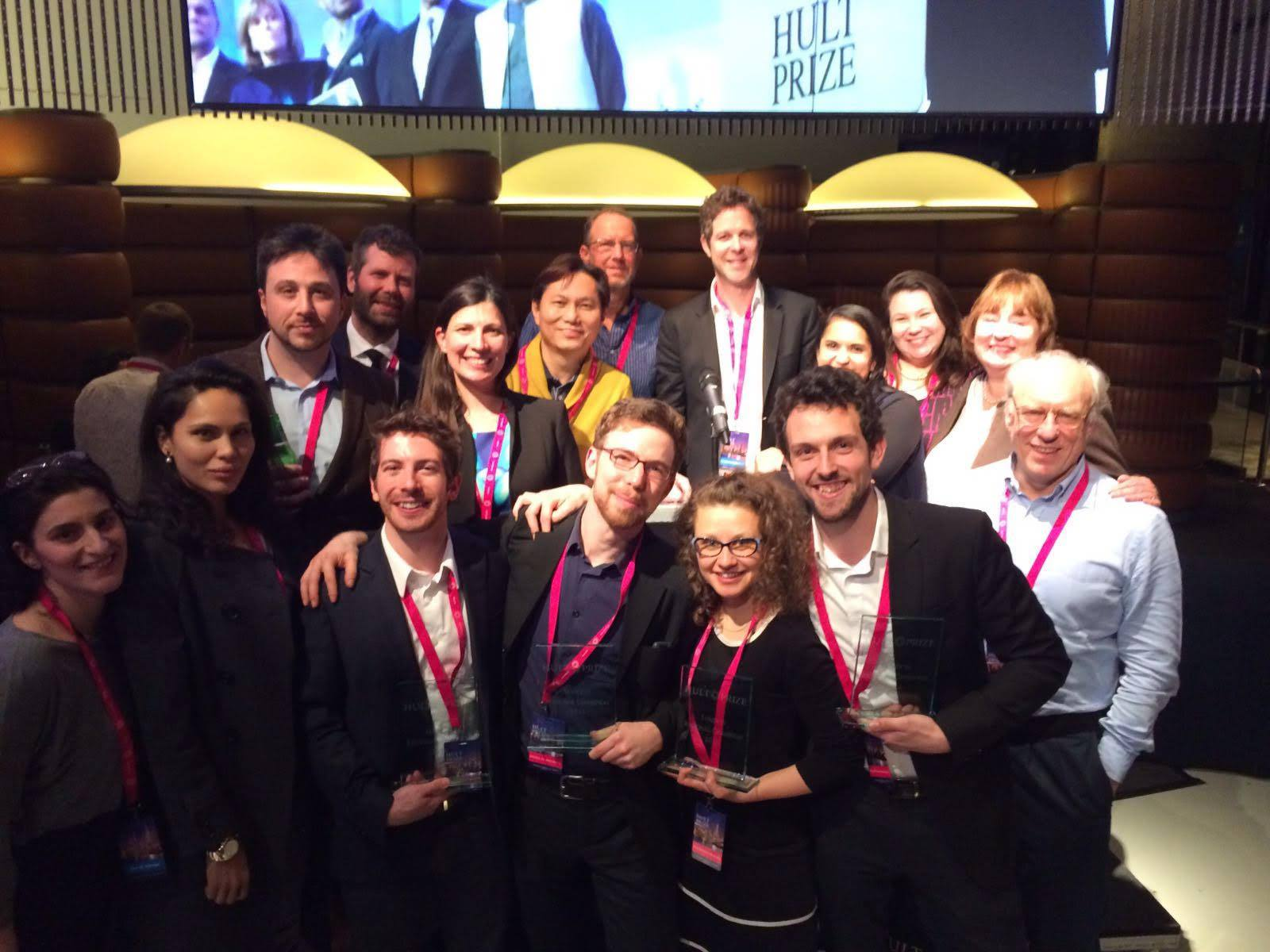 Gates Cambridge Hult Prize success