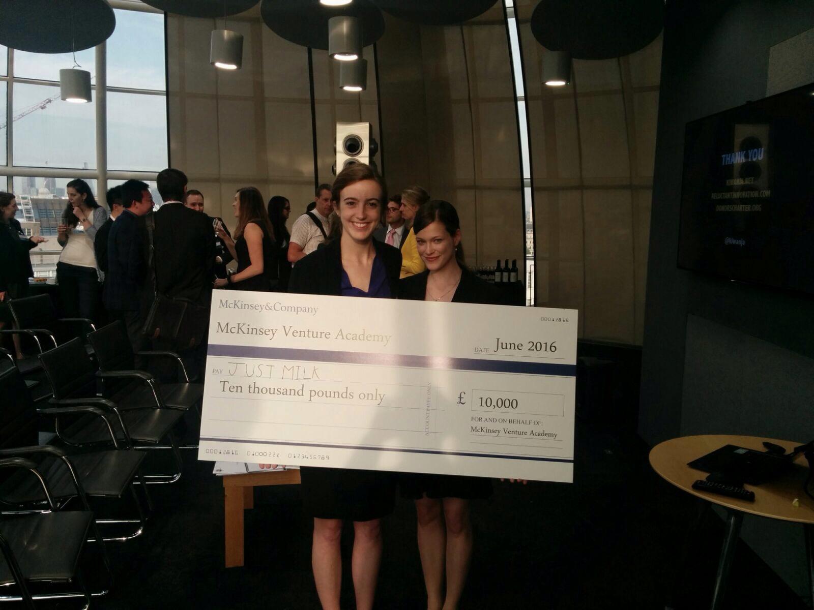 Social enterprise win for JustMilk Ltd