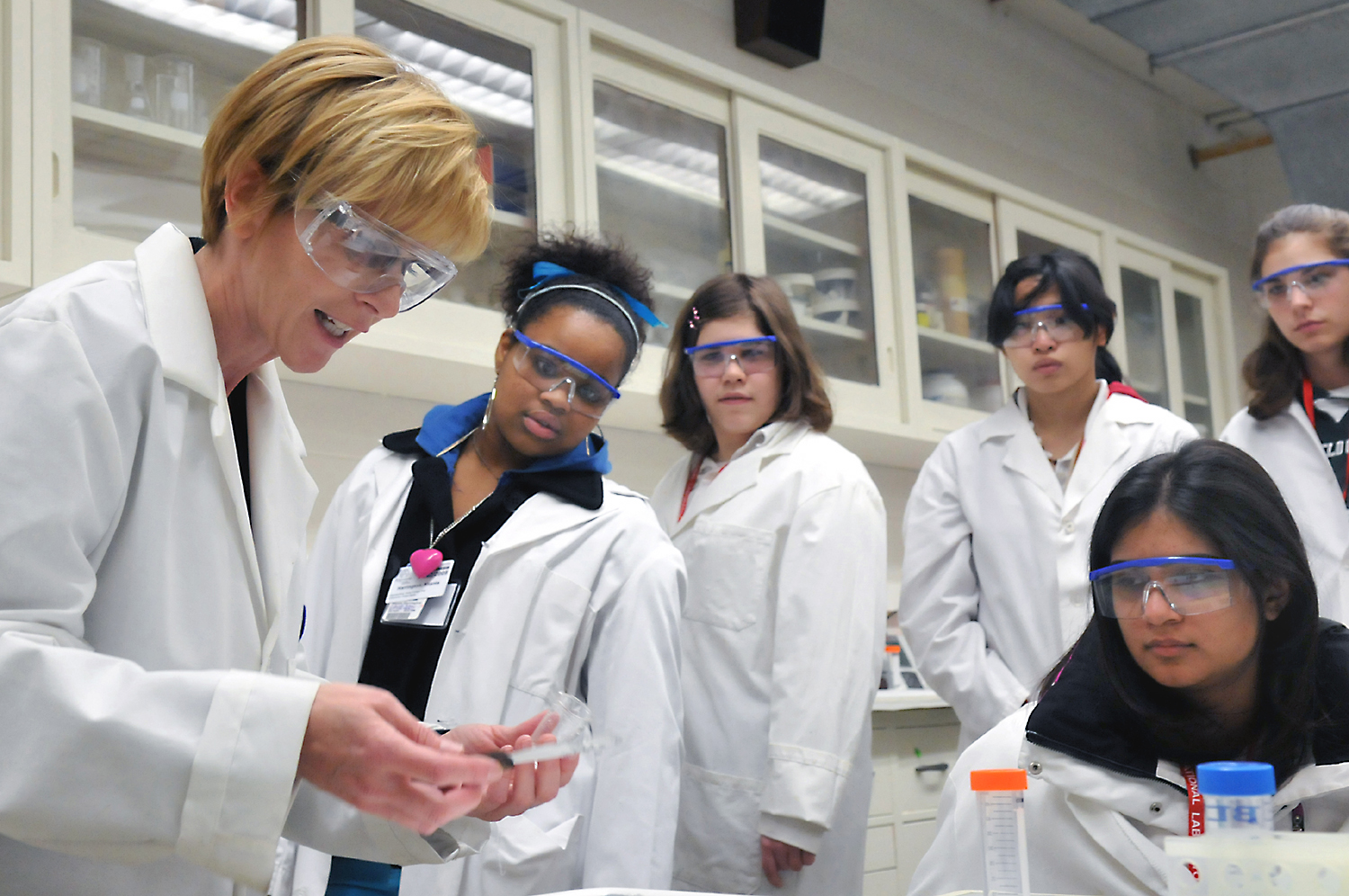 Collaborating for gender equality in STEM