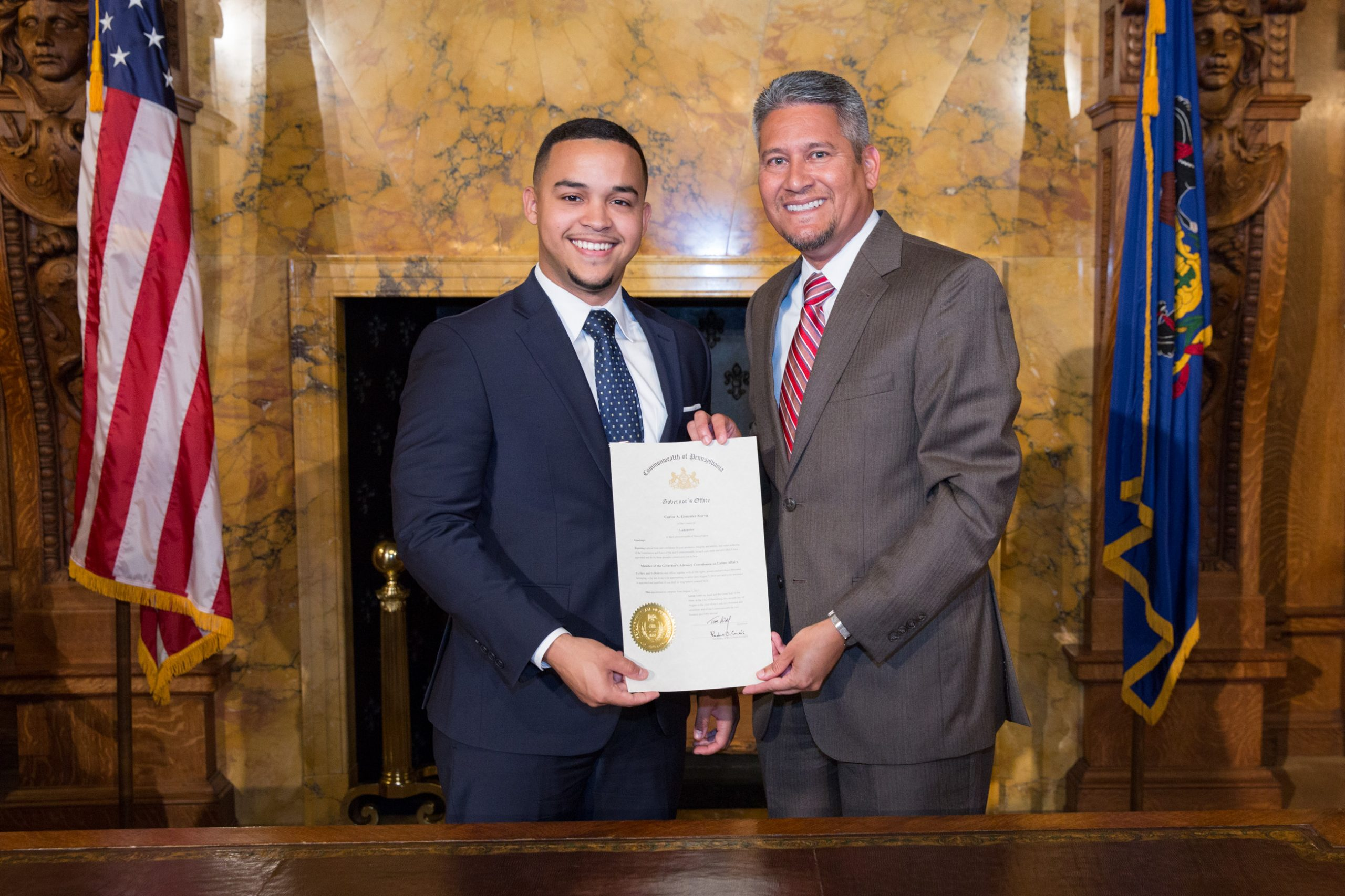 Scholar appointed to Latino Affairs commission