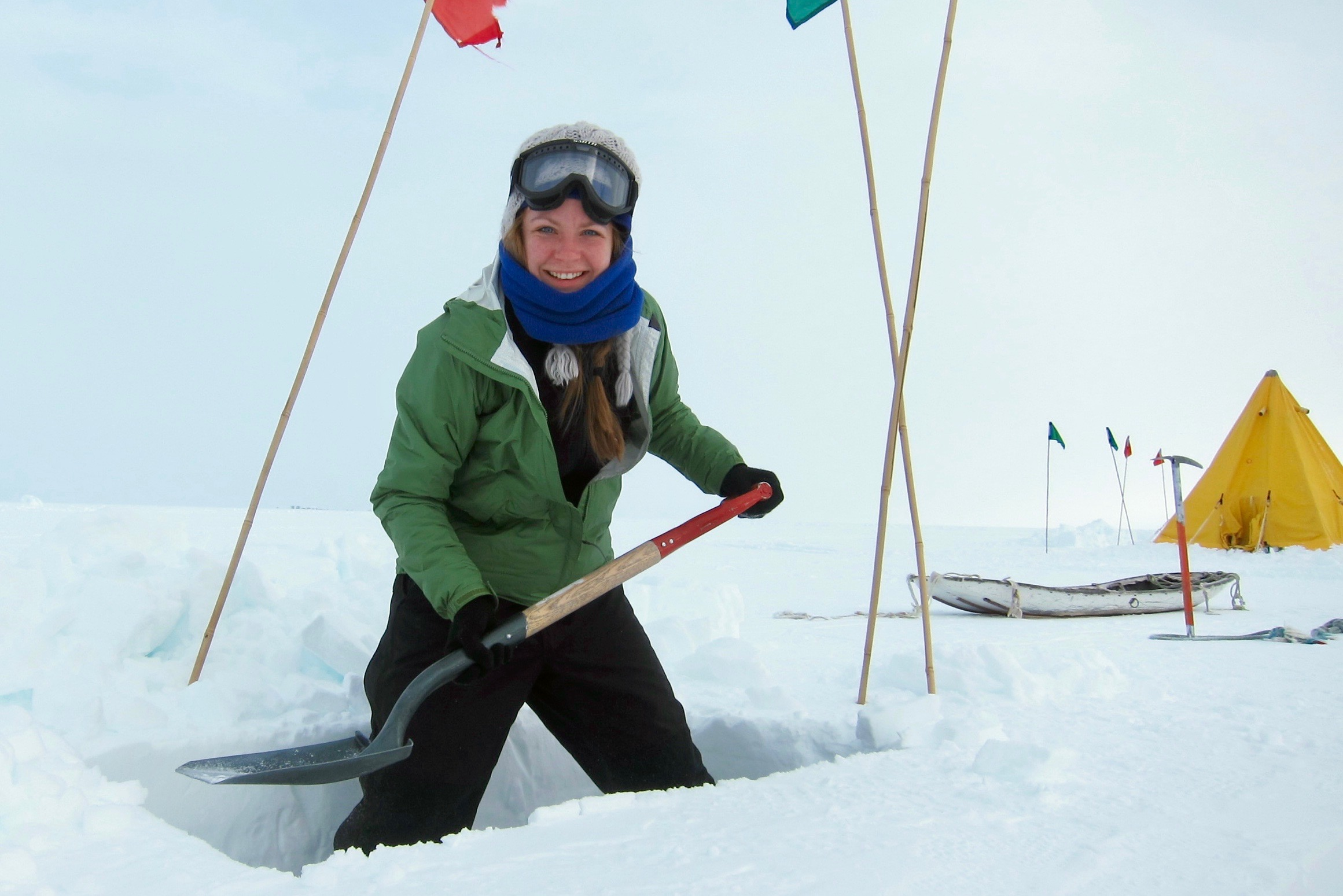 Charting the experiences of women in Antarctica