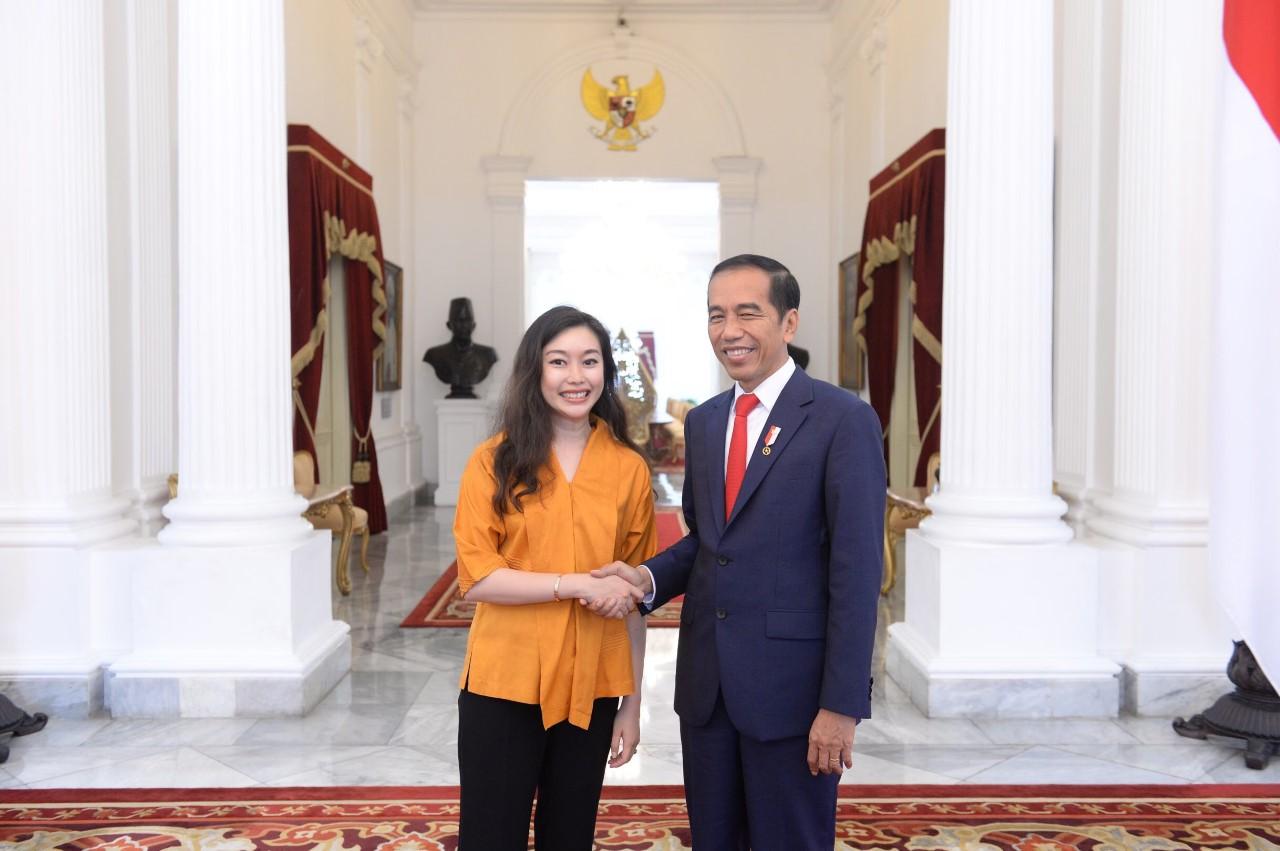 Gates Cambridge Scholar meets Indonesia's president
