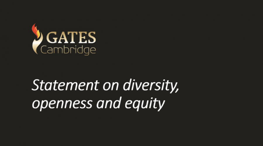 Gates Cambridge Trust Statement on diversity, openness and equity
