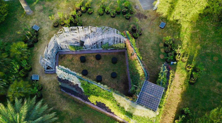 Designing an ecological sacred space