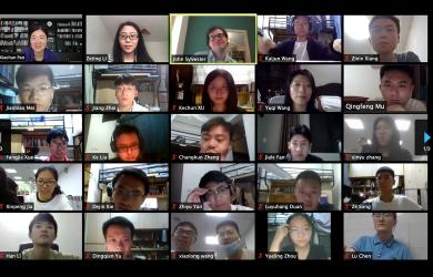 Scholar's Cambridge-China programme goes online
