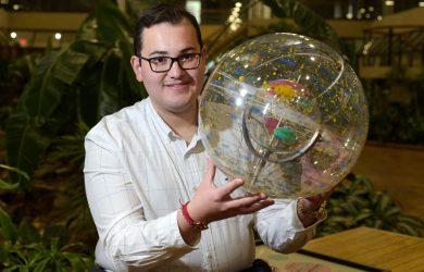 Scholar wins NASA Fellowship