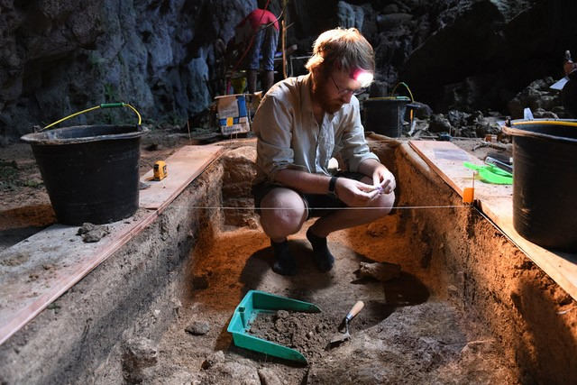 What drove island living in ancient times?